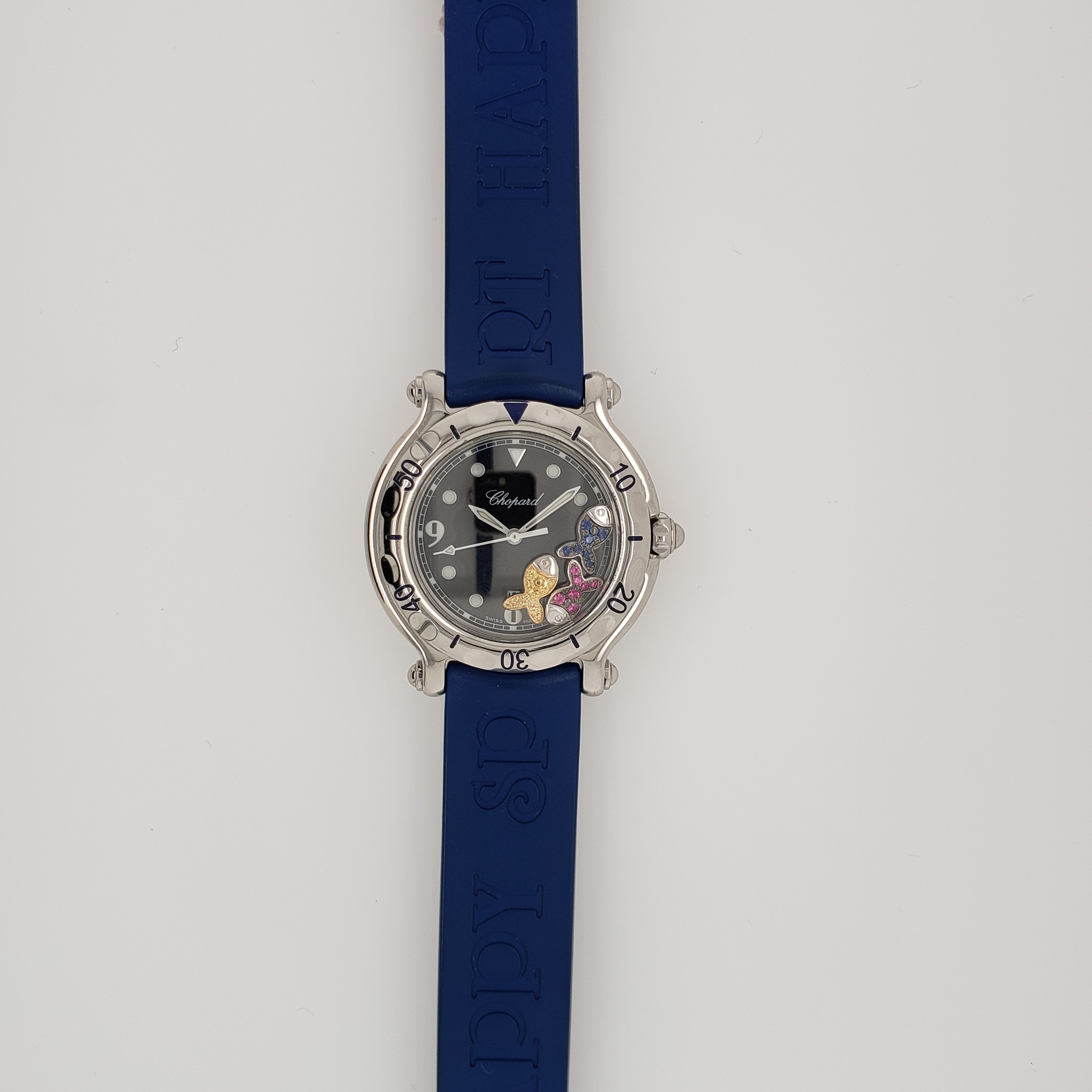 STAINLESS STEEL CHOPARD HAPPY SPORT FISH