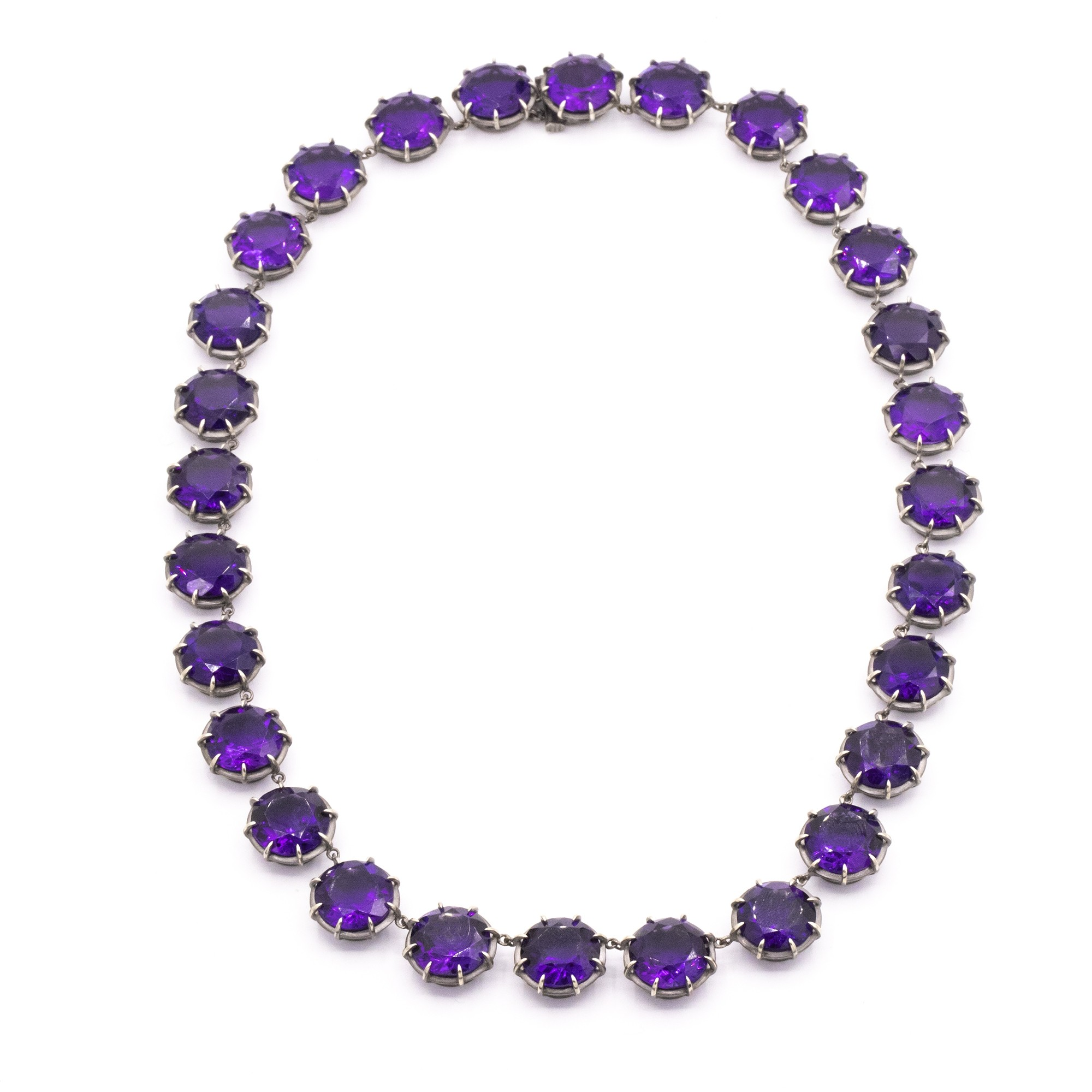 GEMMA COLLECTION AMETHYST NECKLACE