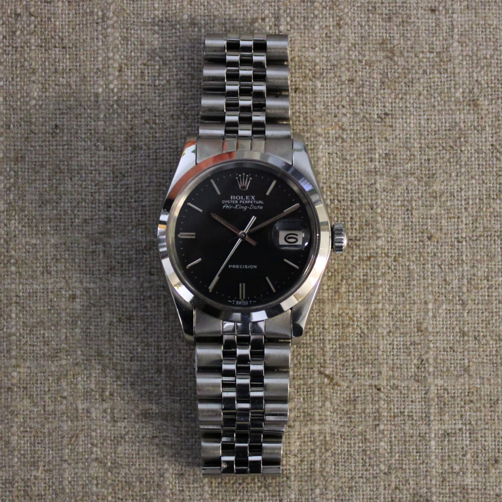 Stainless Steel Rolex Oyster Perpetual AirKing Circa 1976